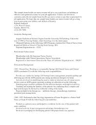 Sample Resume For Home Care Nurse sample resume for home care nurse Savebtsaco 1