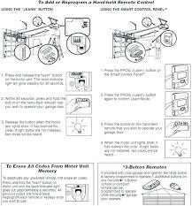 outstanding how to program a linear garage door opener stunng terior ldo50