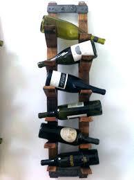 wooden wall mounted wine rack e racks cabinet medium size of metal