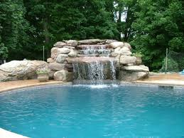 Swimming Pool Waterfalls | Features That Make Your Pool Design More Exciting