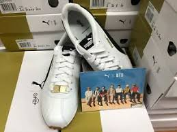 Bts Puma Shoes Size Chart Details About Puma X Bts Turin Shoes Photo Card Official Products Bangtan Boys Kpop Goods