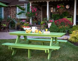 image of painted outdoor furniture ikea