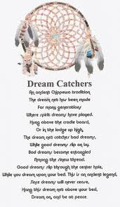 Dream Catchers Legend Inspiration Dreamcatcher Poems