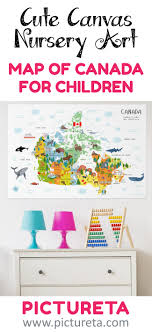 map of canada for kids canvas canada map illustration playroom d cor nursery wall art canvas wall art pictureta s modern map of canada for kids  on nursery canvas wall art canada with canada map map of canada for kids canvas for nursery of playroom