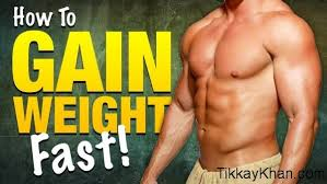 how to gain weight fast naturally in