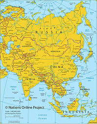 maps of the world, political and administrative maps of continents Map Of Asia Atlas Map Of Asia Atlas #29 map of asia to label