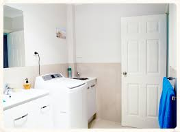 Small Laundry Machine Cool Small Laundry Space In Bathroom Interior Design Introduce