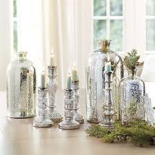 Decorative Colored Glass Bottles Glamorous And Affordable Mercury Glass Decor For Special Occasions 57