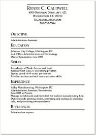 Best Format For Resume Classy Ideal Resume Example An Example Of A Good Resume Good Resume Format