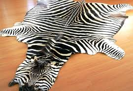black and white zebra rug black and white faux zebra rug hides rugs exotic leather 3
