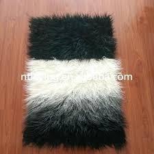 mongolian fur rug hot faux fur sheepskin rugs chair carpet home decoration grey mongolian fur