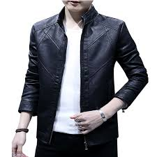 men s pure leather jacket