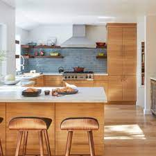 This one wall kitchen with island has the pendants suspended. 75 Beautiful Contemporary Kitchen Pictures Ideas Houzz