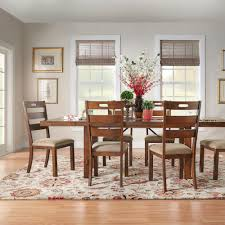 Swindon Rustic Oak Turnbuckle Extending Dining Set by iNSPIRE Q Classic -  Free Shipping Today - Overstock.com - 14319520