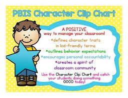 Alternatives To Behavior Clip Charts Character Trait Clip Chart Positive Behavior Management Perfect For Bts