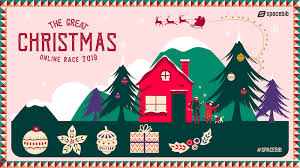 The Great Christmas Online Race 2019 Spacebib
