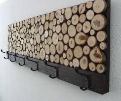 Rustic Wooden Coat Rack Custom Rustic Wood Coat Rack Towel Rack by Modern Rustic Art LLC 20