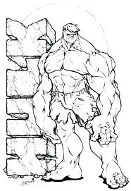 Hulk Coloring Pages Printable Violetin Pertaining To Incredible