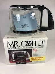 All products from mr coffee replacement carafe category are shipped worldwide with no additional fees. Mr Coffee 12 Cup Replacement Glass Decanter Pd13 Black For Sale Online Ebay