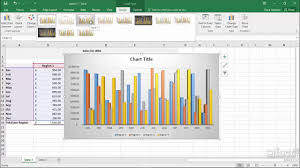How To Change Chart Style In Excel 2013 Chart Styles Excel 2016 Charts