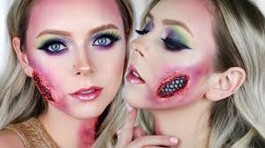 mermaid gore makeup tutorial