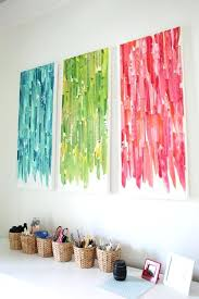 diy office art. Unique Diy Office Art Canvas Simple Family Birds Artwork Original Painting X Diy  Projects For Large Walls Full Intended