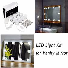 Hollywood Led Vanity Mirror Lights Kit For Makeup Dressing Table