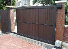 make a diy wood fence sliding gate hardware how to build your own cantilever sliding gate