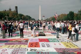 World AIDS Day 2017: Inside Story of How the Day Came to Be | Time & The AIDS Memorial Quilt is shown for the first time on the Mall in  Washington DC Adamdwight.com