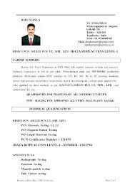 Ndt Inspector Resume Telecom Engineer Resume Blaisewashere Com