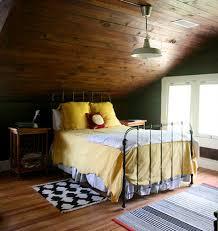 [image Above: The Perfect Cabin Cozy Attic Bedroom In Lucy Allen Gillisu0027  Home]