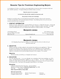 Slp Resume Examples Elegant College Freshman Resume Examples