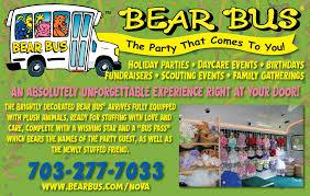 bear bus party certifikid