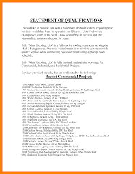 Personal Qualifications Statement 9 Personal Qualifications Statement Letter Adress