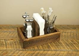 restaurant condiment holder rustic napkin and 3 4 n table top holders restaurant condiment holder