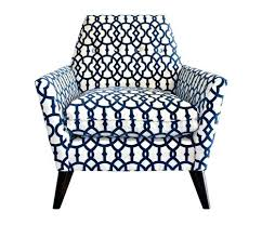 Blue Patterned Chair Best Blue Patterned Accent Chairs Got The Blues Blue White Patterned