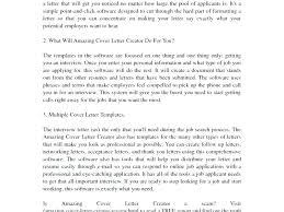 Amazing Cover Letter Creator Review