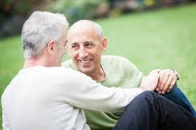 Pictures of senior gay men