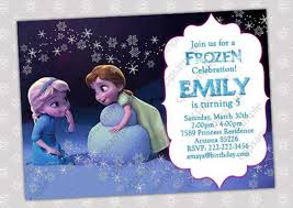make your own frozen invitations 12 frozen birthday invitation psd ai vector eps free