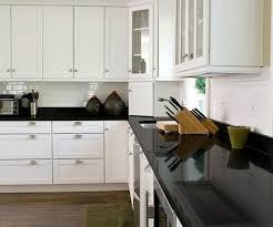 quartz countertops white kitchen with black elements by durcon eco friendly counters durcon