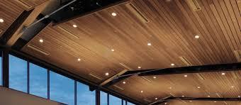 wood ceiling lighting. Armstrong Wood Slat Ceiling Lighting I