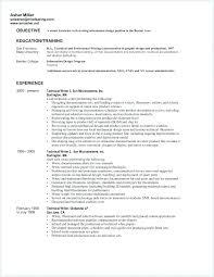 Grad School Resume Sample Unique Resume For Graduate School Example Resume Pro