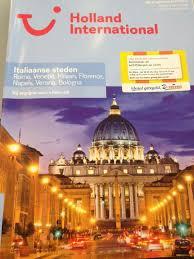 Reisbrochure Dit Is Een Reis Brochure Van Holland International Er Worden Reizen