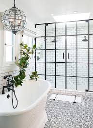 Image Grout Color Steel Shower For Two With His And Hers Shower Heads Lovessinfo Steel Shower For Two With His And Hers Shower Heads Transitional