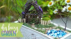 how to make a fairy house garden