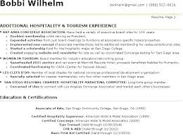 Sample Help Desk Supervisor Resume Front Office Resume Back Sample 3 Sec Manager Desk Hotel Skills