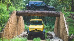 Ets Off Light See Mercedes Unimog And G Class Demonstrate Their Off Road Chops