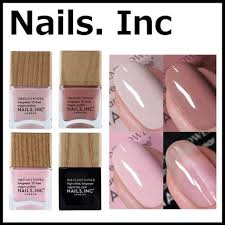 nails inc ビーガンネイル4種セット vegan nail