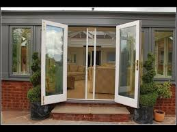 folding patio doors with screens