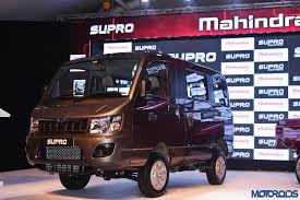 new car launches by mahindraMahindra launches Supro van and Minitruck for Rs 438  425 lakh
